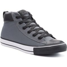Men's Converse Chuck Taylor All Star Street Mid Sneakers ($60) ❤ liked on…