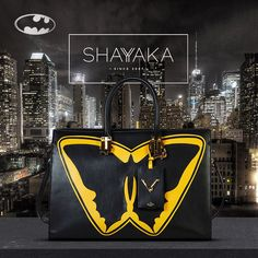 Valentino Superhero Tote Bag | Batman® Theme | 28 x 40 x 17 cm | Available For Pre-Order  For inquiries, please contact sales@shayyaka.com or +961 71 594 777 (Call, SMS, WhatsApp, or iMessage) or Direct Message on Instagram (@Shayyaka). Guaranteed 100% Authentic | Worldwide Shipping | Bank Transfer or Credit Card