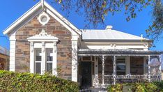 THERE'S something about Prospect – a bargain buy and a bluestone villa in the city fringe suburb were SA's most-viewed listings of last week. Prospect House, Character Home, Open Fireplace, Home Reno, House Prices, Home Buying, Exterior Design, Facade, Gazebo