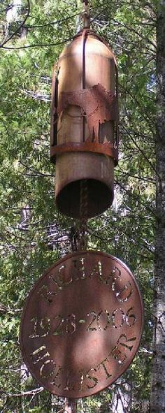 Old Iron Art- Wind Chimes, Memorial Chimes