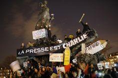 photo paris 11 janvier manifestion charlie ©  Laurent Cipriani
