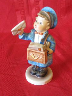 Hummel Postman Figurine TMK6 119 Just Listed Available In Store Today @
