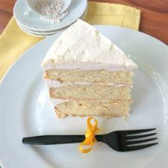 White Chocolate Mint Cake