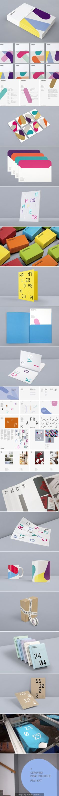 Cerovsky Print Boutique Identity by Bunch