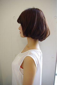 チョコレートボブ☆ | 原宿の美容室 see/sawのヘアスタイル | Rasysa(らしさ)- Bedhead Cute 2 of 3
