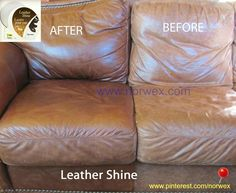 Norwex Leather Shine - not just for shoes! www.norwex.com   Made with pure bee, carnauba wax  and lanolin, Leather Shine naturally  cleans, restores and beautifies all of  your leathers without the use of  man-made waxes or harmful  chemicals. Restores the natural oils  to dry leather while it waterproofs,  moisturizes and protects. Includes a  sponge applicator.  Great for boots, purses, belts, leather gloves, baseball mitts, saddles or anything else made of leather.