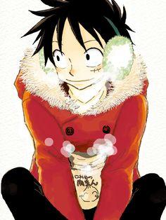 Monkey D. Luffy. Okay! Where is his freakin' hat???