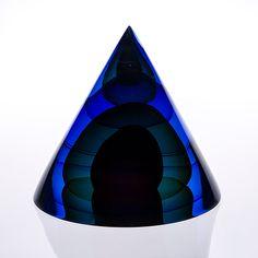 Glass Design, Design Art, Acrylic Pouring, Lava Lamp, Finland, Scandinavian, Antiques, Triangles, Midnight Blue