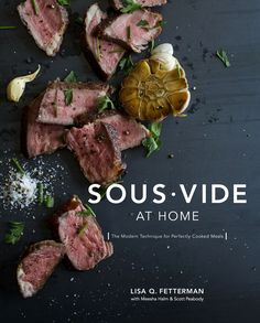 Sous vide has been a popular cooking technique in restaurants for years, offering tender and succulent dishes cooked to perfection. Now, from the creator of Nomiku--the first affordable sous vide mach
