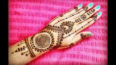 Henna Mehndi, Hand Henna, Hand Tattoos, Design, Design Comics