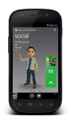 XBOX SMARTGLASS FOR ANDROID NOW AVAILABLE TO DOWNLOAD    Xbox SmartGlass has been in the offing for quite a while now, and with Windows 8 finally available to purchase online and at all good retailers, the remaining releases are also beginning to trickle out. SmartGlass for Android is now available to download for free at the Google Play Store, and if you're an Xbox 360 and Android user, this is an app you will not want to miss. ... continue