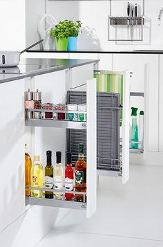 Aprovecha el espacio de la cocina con cajones en vertical for Muebles de cocina vegasa