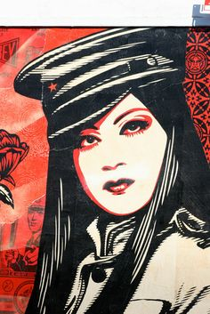 #ShepardFairey #Wynwood #miami #streetart #urbanart #mural #grindsk8club