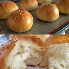 Sesame bun - homemade :)  http://thekitchenrunner01.blogspot.ca/ for recipe :)