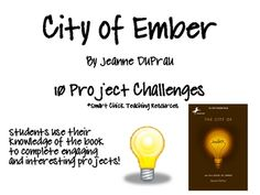 Free city of ember plot chart organizer diagram arc freytags city of ember by jeanne duprau 10 project challenges ccuart Images