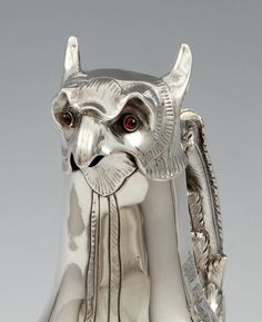 A Griffon-Shaped Silver Claret Jug image 4