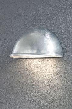 Buitenlamp 30269: Modern, Kunststof, Metaal, Rond