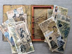 Susan Lenz / AlteredBooks & collections