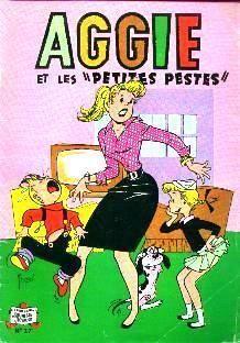 Aggie,l'héroïne de mon enfance. J'ai reconstitué la collection pour ma fille dans les années 75