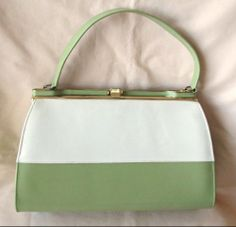 Vintage Avocado Green Purse by Naturalizer
