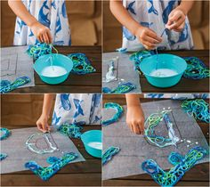 Learning the alphabet isn't always as easy as A, B, C, but making it fun definitely helps. This adorable stringing letters craft does just that.
