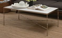 18x50x 22South Shore Decorating: Studio A 7.90513 Spike Transitional Cocktail Table STA-7-90513
