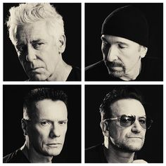 #U2 by #MattiaZoppellaro #AdamClayton #TheEdge #LarryMullenJr #Bono #GodBlessYou #SongsOfInnocence