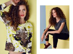 SS2015, comfy look Spring Summer 2015, Hair Makeup, Comfy, T Shirts For Women, Model, Collection, Tops, Fashion, Moda