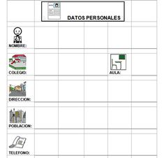 agenda_2011.gif Software, Portal, Education, Pictogram, Autism, Classroom, Onderwijs, Learning