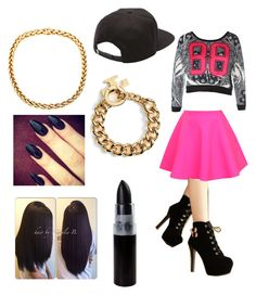 """""""Untitled #58"""" by dilynnjames ❤ liked on Polyvore featuring UNIF, Charming Kicks, Vans and Tory Burch"""