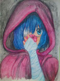 Anime-- Rika from Chuunibyou ||ART||