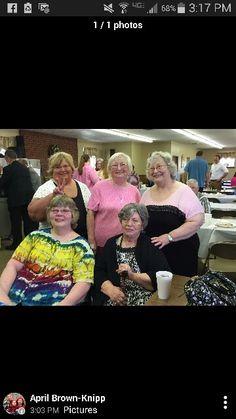 Front row: Kathy and Inez Back row: Sherry, Linda Lowe, and Glenna. .....2015