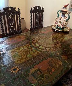 Hand Painted Furniture, Bohemian Rug, Photo Wall, Community, Rugs, Interior, Artwork, Painting, Wall Photos