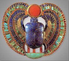 from Tutankhamun's tomb.