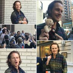 Live, Love And Be Happy : Photo Sam Heughan 22. September 2016. Barbour Event NYC
