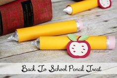 Back to School Craft   A Pencil Treat - livelaughrowe.com