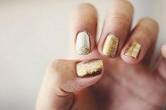 Uñas doradas #MNY