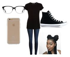 """Rain 💧Rain 💧Go Away"" by lildae on Polyvore featuring Vince, Converse, Ace and Agent 18"