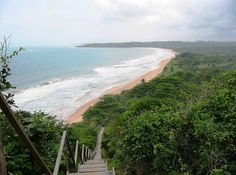 Busua Beach west of Takoradi in Western Ghana
