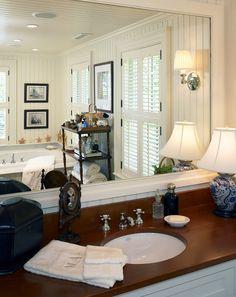 Bathroom. Coastal Bathroom Design. Great coastal bathroom design ideas! #Bathroom #Coastal #CoastalBathroom