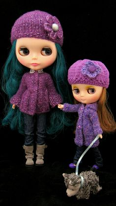 Pretty Purple Doll Sweaters | Flickr - Photo Sharing - CC BY-SA 2.0
