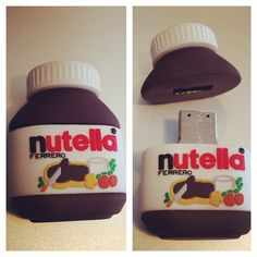 La clé USB officielle ! #nutella #nutellamorningfestival I ❤️ it !