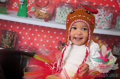 Baby Gingerbread Hat by HandcraftLoribelle on Etsy, $22.00