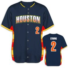 0c566b6d DESIGN YOUR OWN: Custom Sublimated, Houston Astros Inspired Throwback style  baseball jerseys for your. Team Sports Planet