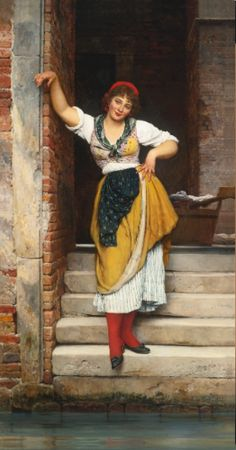 Eugen von Blaas | lot | Sotheby's