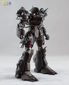 Gundam Family: GG 1/100 MS-18E Kampfer Painted Build