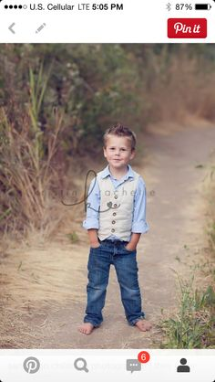 Ring bearer inspiration