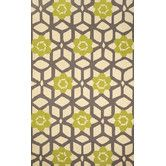 Found it at AllModern - Heritage Jacquelyn Yellow Geometric Area Rug