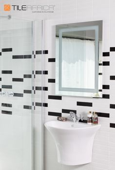 Play with the classic subway, or metro tile by using smaller mosaics of this timeless look. Mix and match different colours to create your own individual design for your home by cutting the individual tiles out of the mesh. Make it your own with a fabulous new look. #tiles #metrotiles #subwaytiles #featurewall #mixandmatch #monochromatic #bathroom #bathroomdesign #home #homedecor #homedesign #trendingdesign #homegoals #trendyhome Metro Tiles Bathroom, Feature Walls, Trendy Home, Subway Tile, Mosaics, Color Mixing, Design Trends, Floors, Mesh