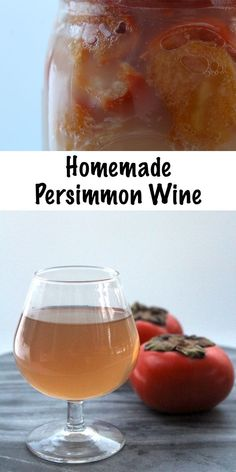 Homebrewing room Homemade Persimmon Wine ~ Easy small batch home winemaking ~ A simple winemaking recipe using persimmons, substitute honey for sugar for persimmon mead. Add warm spices like cinnamon for a tasty spiced persimmon wine. Homemade Wine Recipes, Homemade Beer, Homemade Alcohol, Persimmon Recipes, Pomegranate Recipes, Wine Yeast, Homebrew Recipes, Fermentation Recipes, Water Recipes
